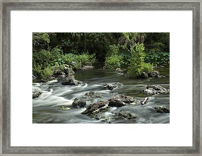 River Rapids Framed Print by Robert Anderson