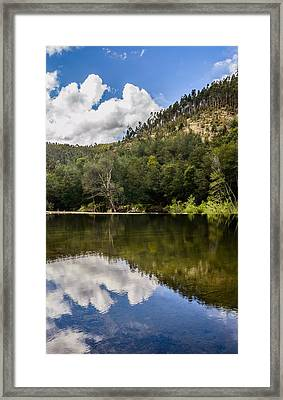 River Reflections I Framed Print by Marco Oliveira