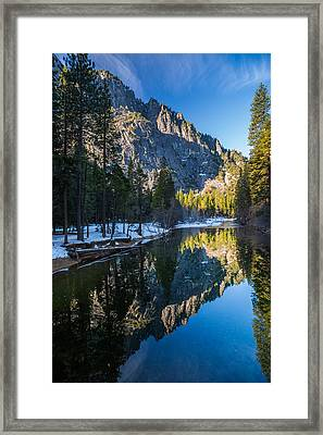 River Reflections Framed Print by Mike Lee