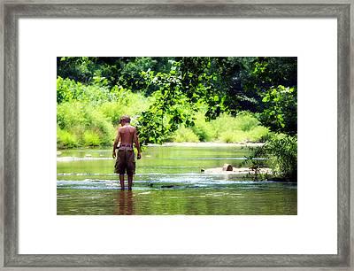 River Walk Framed Print by Tamara Gentuso
