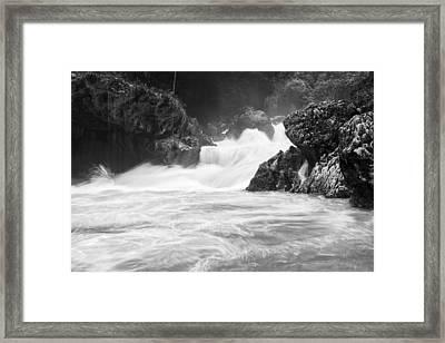 River Waterfalls Framed Print by Yuri Santin