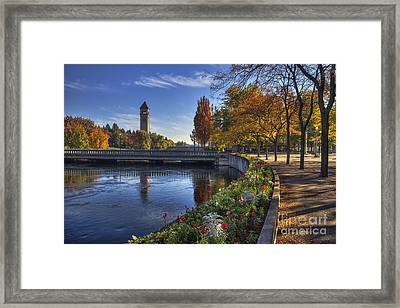 Riverfront Park - Spokane Framed Print by Mark Kiver