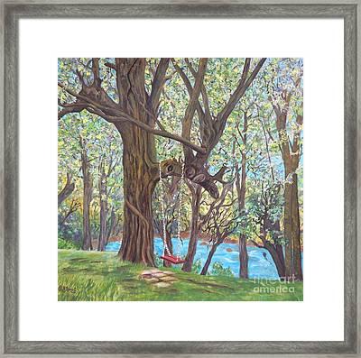 Riverside Framed Print by Caroline Street