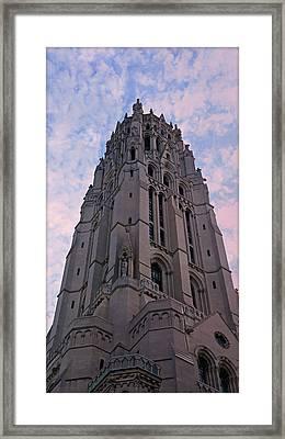 Riverside Church Framed Print by Stephen Stookey