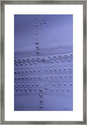 Riveting Framed Print by Steven Milner