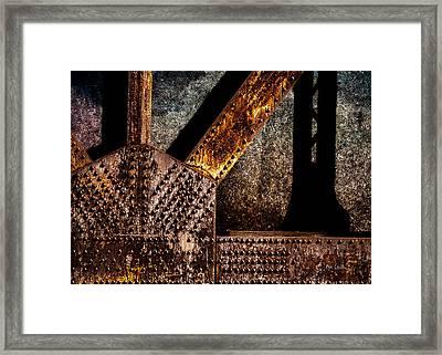 Rivets  Framed Print by Bob Orsillo