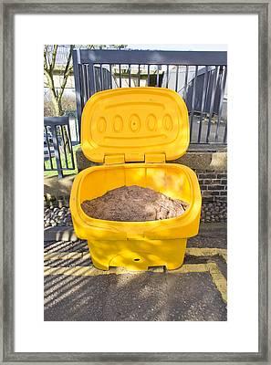 Road Grit Framed Print by Tom Gowanlock