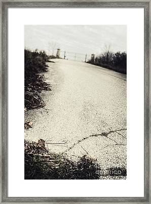 Road Less Traveled Framed Print by Margie Hurwich