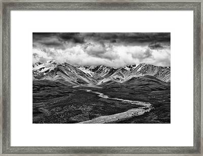 Road Less Traveled Framed Print by Mike Lang