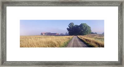 Road Sweden Framed Print by Panoramic Images