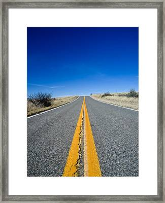 Road Through Sulphur Flats Framed Print by Jim DeLillo