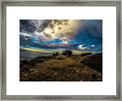 First Jetty Framed Print by David Alexander