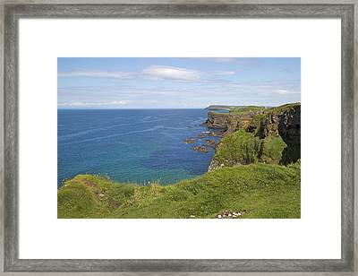Road To Dunluce Ireland Framed Print by Betsy C Knapp