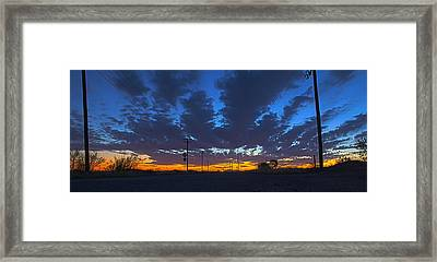 Road To Infinity Framed Print by Andreas Hohl