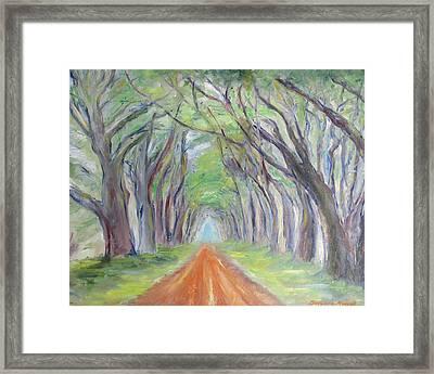 Road To Nirvana Framed Print by Barbara Anna Knauf