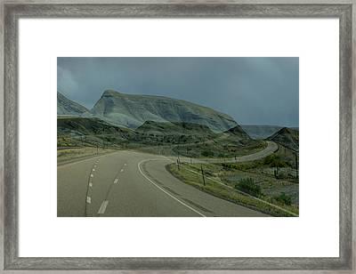 Road Trip Framed Print by Ernie Echols