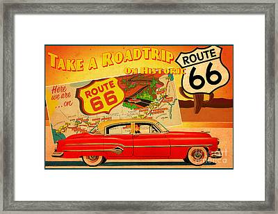 Roadtrip Framed Print by Cinema Photography