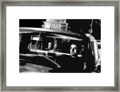 Robert De Niro - Pencil Framed Print by Doc Braham