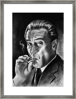 Robert De Niro Framed Print by Salman Ravish