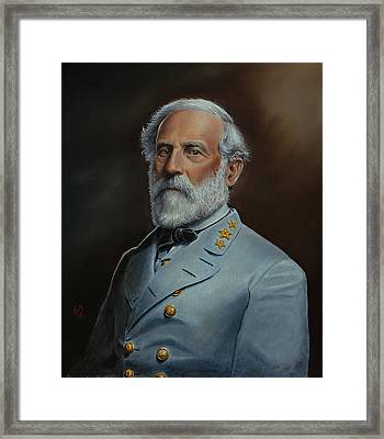 Robert E. Lee Framed Print by Glenn Beasley