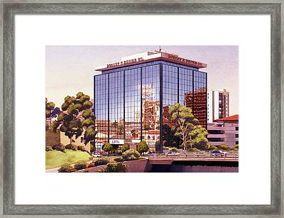 Robert F Driver Building Framed Print by Mary Helmreich