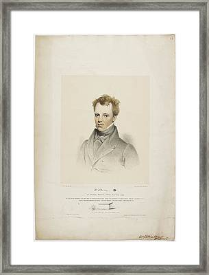 Robert Thom Framed Print by British Library