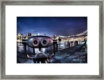 Robot Views Framed Print by Andrew Paranavitana