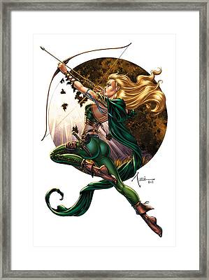 Robyn Hood 01h Framed Print by Zenescope Entertainment