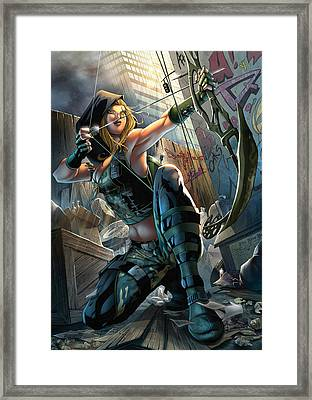 Robyn Hood 05a Framed Print by Zenescope Entertainment