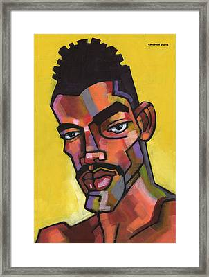 Rocco Framed Print by Douglas Simonson