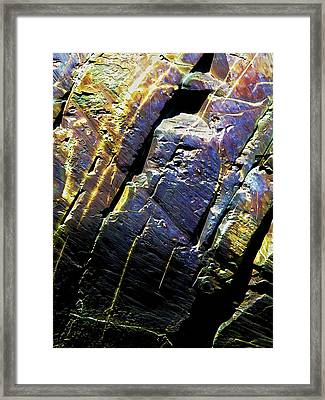 Rock Art 9 Framed Print by Bill Caldwell -        ABeautifulSky Photography