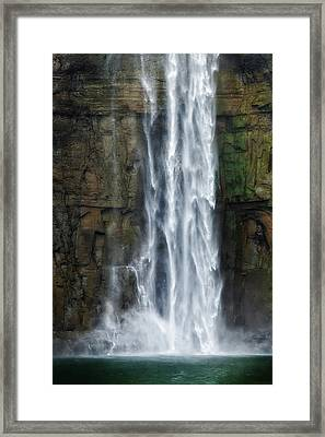 Rock Bottom Framed Print by Bill Wakeley