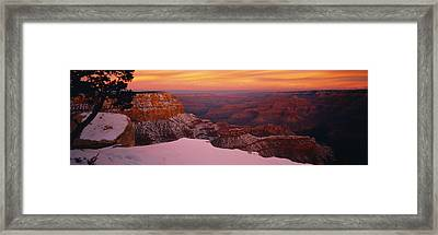 Rock Formations On A Landscape, Grand Framed Print by Panoramic Images