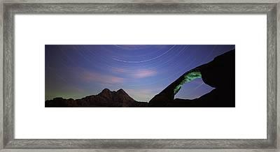 Rock Formations, Wadi Rum, Jordan Framed Print by Panoramic Images