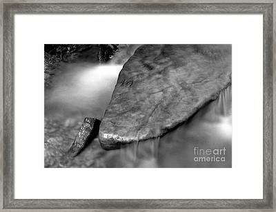 Rock Framed Print by James Taylor
