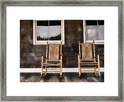 Rock On Framed Print by Colleen Kammerer