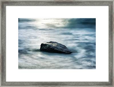 Rock Steady Framed Print by John Greim