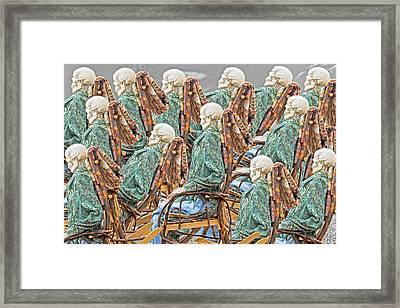 Rock The Bones Framed Print by Betsy Knapp