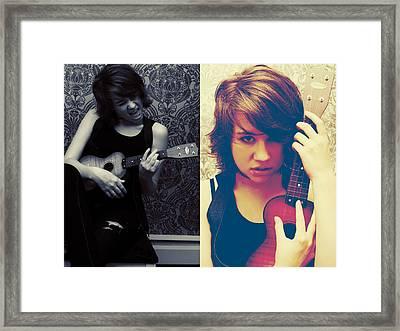 Rockalele Framed Print by Lisa Knechtel