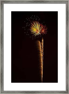 Rockets Skyward  Framed Print by Saija  Lehtonen