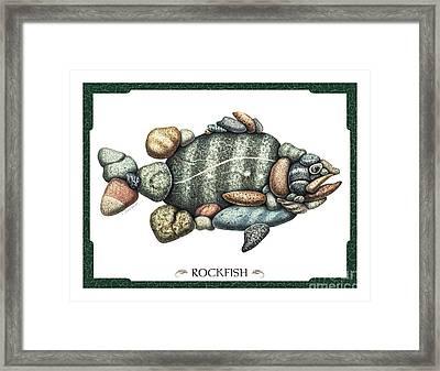 Rockfish Framed Print by JQ Licensing