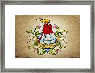 Rockin' Framed Print by Samuel Whitton