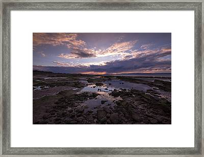 Rockpool Reflections Framed Print by Karl Normington