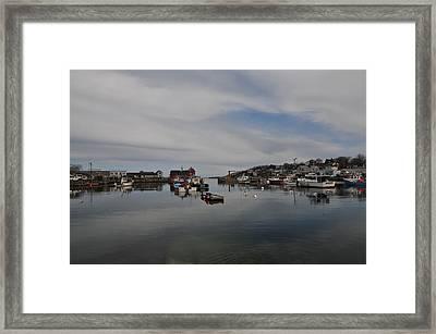 Rockport Harbor Framed Print by Mike Martin