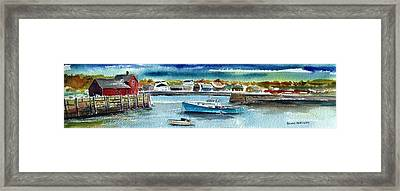 Rockport Harbor Framed Print by Scott Nelson