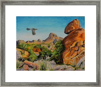 Rocks Of The West Framed Print by James Taylor