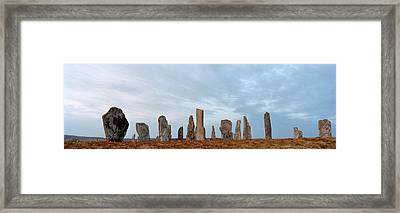 Rocks On A Landscape, Callanish Framed Print by Panoramic Images