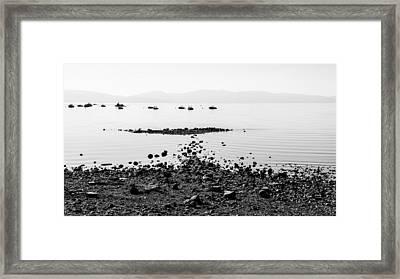 Rocky Beach Framed Print by Chad Dutson