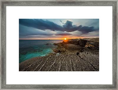 Rocky Beach II Framed Print by Davorin Mance