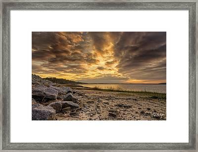 Rocky Beach Framed Print by Phill Doherty